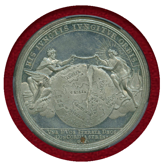 JCC | ジャパンコインキャビネット / ドイツ 1714年 錫メダル ラ ...