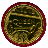 【SOLD】イギリス 2020年 100ポンド 金貨 QUEEN NGC MS69
