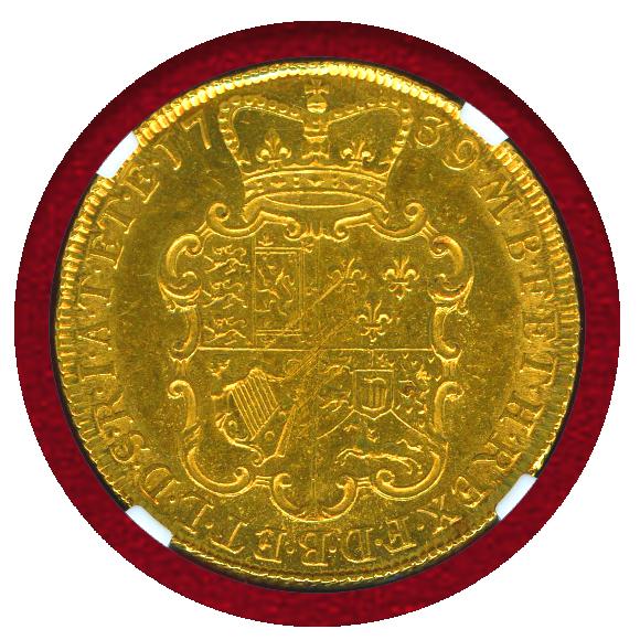 JCC | ジャパンコインキャビネット / イギリス 1739年 2ギニー 金貨 ...