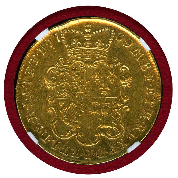 JCC | ジャパンコインキャビネット / 【SOLD】イギリス 1739年 2ギニー ...
